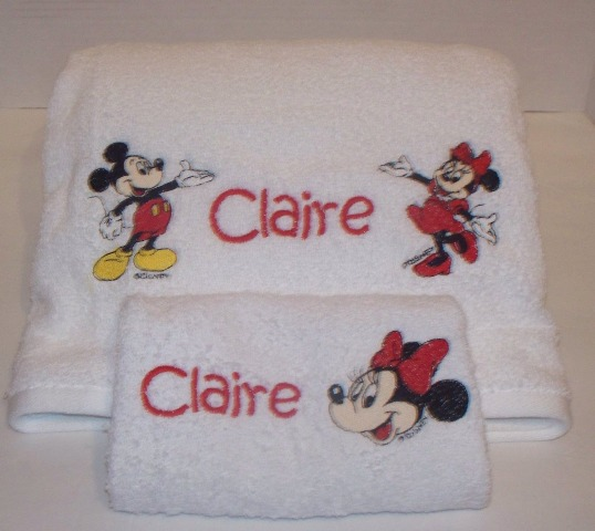 Personalized / Embroidered Towels